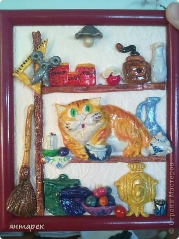 Котик по рисунку А.Долотова фото 2
