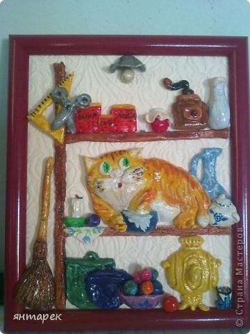 Котик по рисунку А.Долотова фото 3