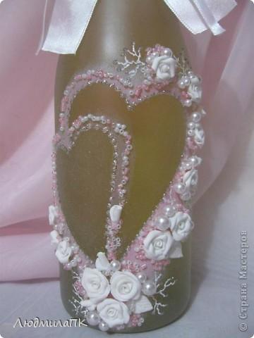Набор, как и предыдущий, только в розовом цвете и с прозрачной, вернее, матовой бутылочкой. фото 2