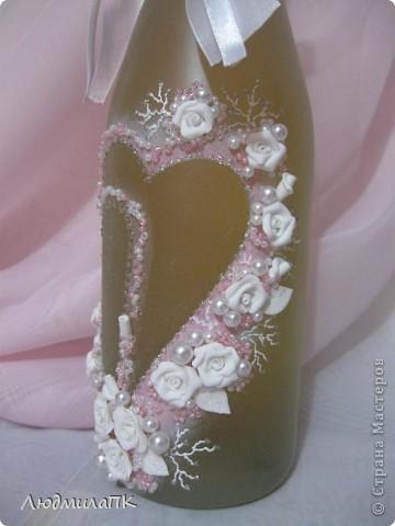 Набор, как и предыдущий, только в розовом цвете и с прозрачной, вернее, матовой бутылочкой. фото 3