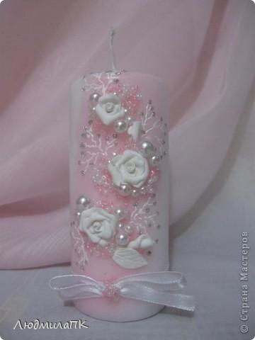 Набор, как и предыдущий, только в розовом цвете и с прозрачной, вернее, матовой бутылочкой. фото 7