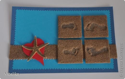 Вот и моя открыточка для игры по скетчу. Сделана практически только из природных материалов. фото 4