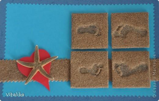 Вот и моя открыточка для игры по скетчу. Сделана практически только из природных материалов. фото 1