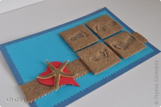 Вот и моя открыточка для игры по скетчу. Сделана практически только из природных материалов. фото 3