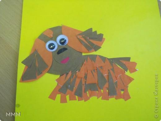 """Эта стая собачек, не определённой породы, появилась благодаря замечательномуМК Т. Н. Просняковой"""" Собачки из кругов"""" Мои первоклашки очень старались!!!!! фото 6"""