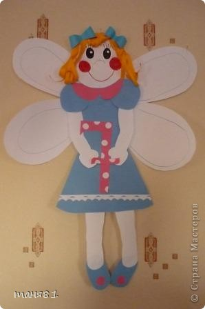 Полинина мышка. Картон, цв. бумага. фото 4