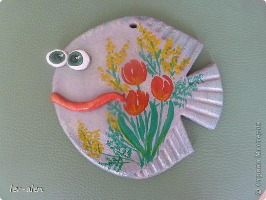 Рыбка с восьмимартовским настроением. фото 3