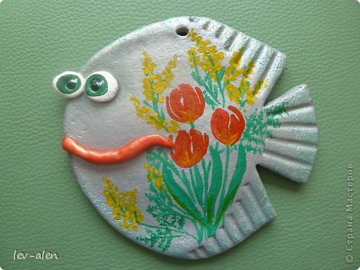 Рыбка с восьмимартовским настроением. фото 2