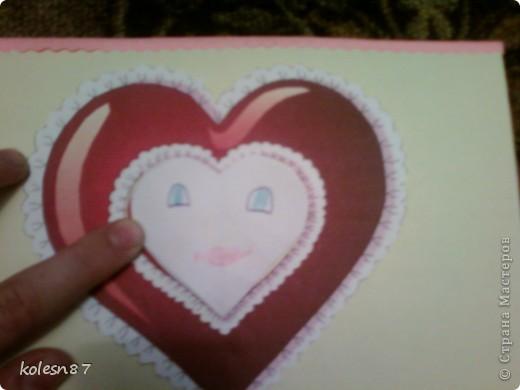 вдохновившись работами сделала вот такую валентинку для сестры фото 4