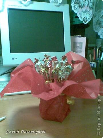 Вот такой конфетный букет:) фото 4
