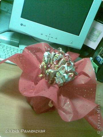 Вот такой конфетный букет:) фото 1