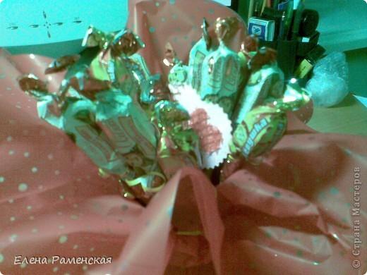 Вот такой конфетный букет:) фото 2
