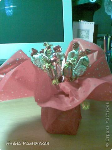 Вот такой конфетный букет:) фото 3