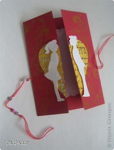 Открытка-валентинка.  фото 3