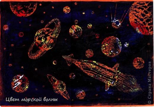 Воскография ко дню Космонавтики  Вдохновили работы на страничке  http://stranamasterov.ru/node/110661?c=favorite
