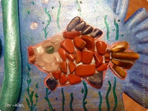 Еще одна реинкарнация рыбки-дайвера. Он ищет в морских глубинах драгоценных рыбок редких пород. :)) фото 3