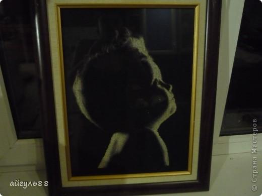 это его первая работа......фото не очень но какое есть.....