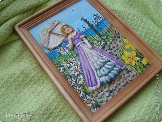 Дама в лиловом фото 2