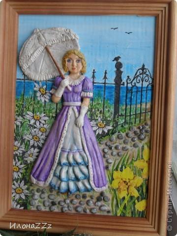 Дама в лиловом фото 1