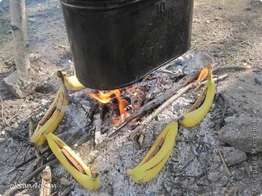 Яблочки ,запеченые в фольге у костра.Очень оригинальный рецепт и вкусно! фото 8