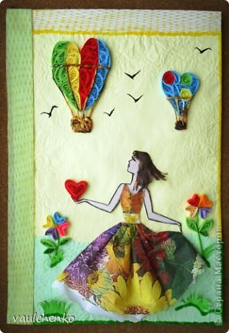 Пусть за окном метет метель - совсем скоро придет весна и расцветут разноцветные сердца! фото 1