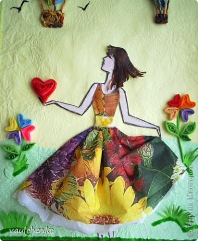 Пусть за окном метет метель - совсем скоро придет весна и расцветут разноцветные сердца! фото 2