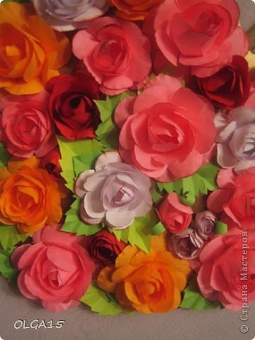 Цветочное  сердечко. фото 4
