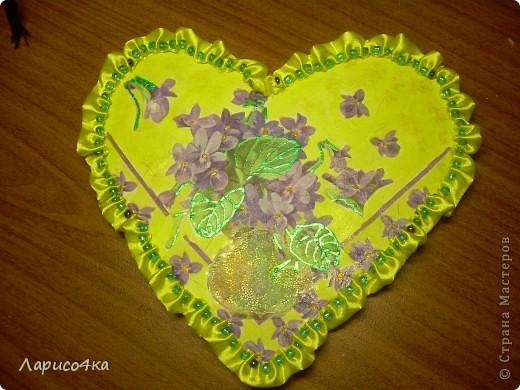 Валентинка для учителя, постаралась доча. фото 1