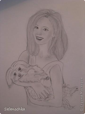 Рисовала, когда училась в школе фото 2