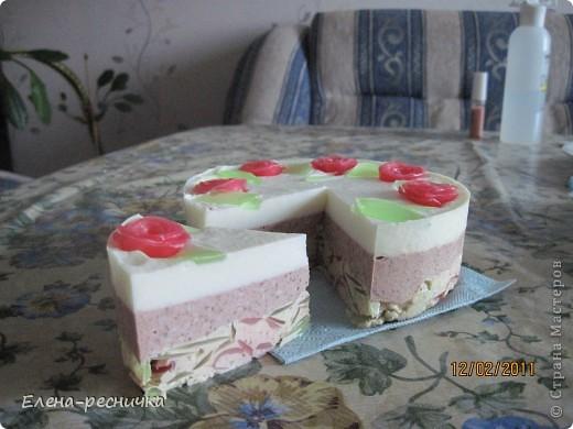 Мыльный тортик. фото 1