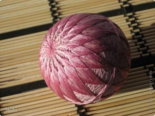 Темари * Кику * Первый шарик фото 1