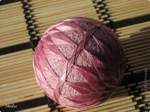 Темари * Кику * Первый шарик фото 2