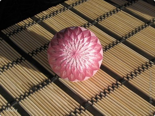 Темари * Кику * Первый шарик фото 3