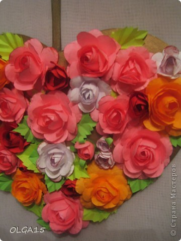Цветочное  сердечко. фото 6