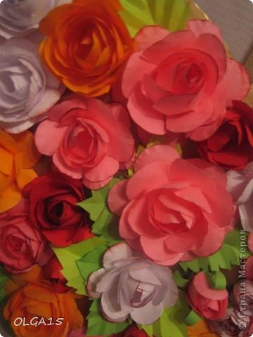 Цветочное  сердечко. фото 7
