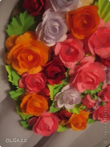 Цветочное  сердечко. фото 9