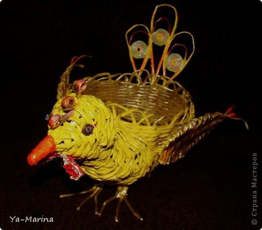 В корзиночку может поместиться десятка полтора яиц. фото 2