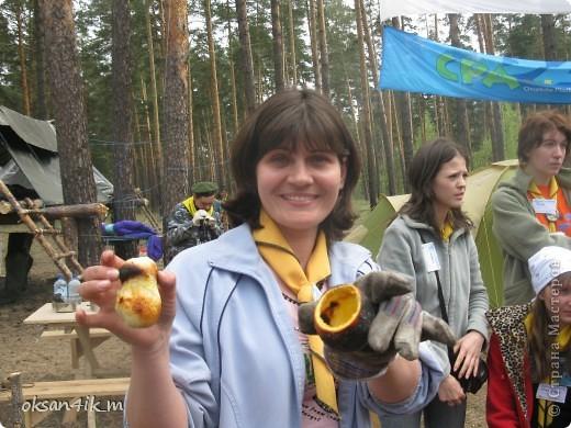 Яблочки ,запеченые в фольге у костра.Очень оригинальный рецепт и вкусно! фото 6