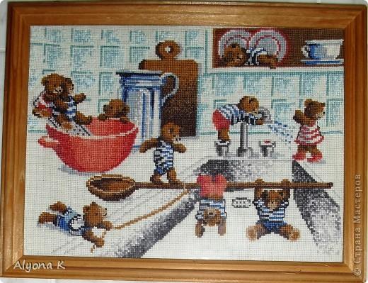 Мишки на кухне