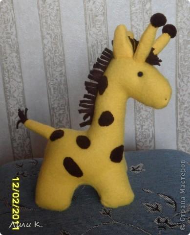 Жирафенок-тильда фото 1