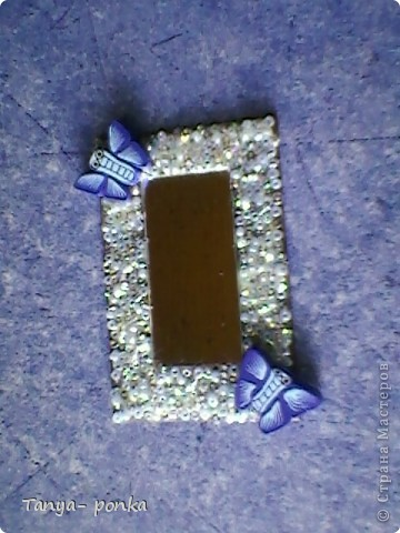 берем плоские магниты, замачиваем , очищаем фото 4