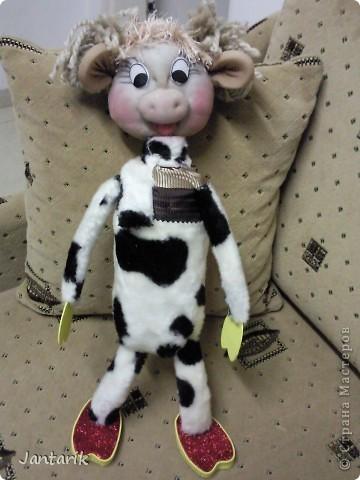 Юная коровка