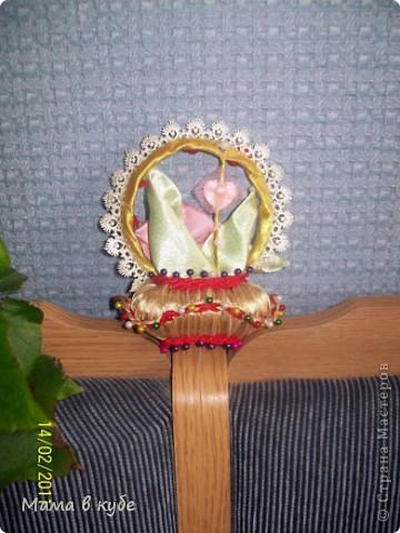 Такую корзиночку сделала в подарок на день святого Валентина для свекромамы))). Пахнет вишневым пирогом! фото 2