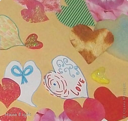 Сегодня утром детки поздравили нас с мужем С днем влюбленных. И подарили целых 120 сердец!!! фото 3