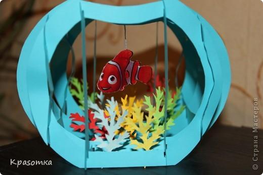 Открытка-аквариум. фото 1