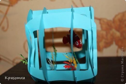 Открытка-аквариум. фото 2