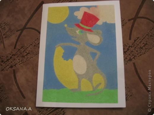 Эти аппликации сделала моя старшая дочка Валерия. Этот слоник из сердечек - подарок на день Валентина.   фото 11