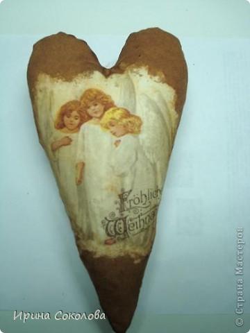 Насмотрелась я на Ольгины (Захария) сердечки http://stranamasterov.ru/node/146365 и решила тоже попробовать! Здесь они ещё беленькие (я даже хотела их так оставить) фото 4