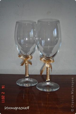 Эти бокалы предполагается разбить =))