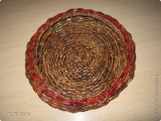 Вот она какая: диаметр корзинки 29 см, а диаметр верхнего круга 22 см, высота 6 см. фото 2